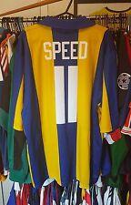 Leeds United Football Shirt 1993/94 Away XL ~ Speed 11