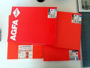 AGFA Baryt, altes Fotopapier 24x30cm ca 200Blatt