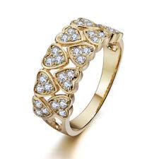 Cubic Zirconia Love & Hearts Fashion Rings