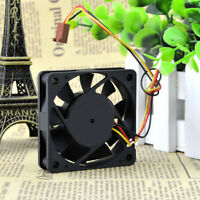 New 60x60x15mm 3-Pin Connector DC 12V Computer Case Cooler Cooling Fan PC Black