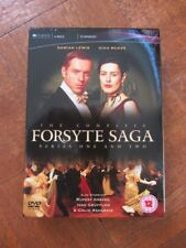 The Complete Forsyte Saga 1 and 2  DVD 2006 4-Disc Set   WATCHED ONCE