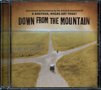 Down from the Mountain: O Brother, Where Art Thou? (CD, Jul-2001, Lost Highway)