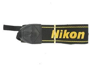 #3 Nikon AN-DC1 Black / Yellow Camera Neck Strap For SLR / DSLR