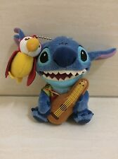 Tokyo Disney Resort Stitch and Parrot Plush Doll,Brooch.Jungle Adventure Theme.