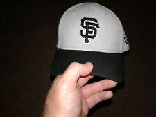 MLB San Francisco SF Giants 39/30 Fitted Hat Grey /BLACK NEW ERA Cap S-M NWT