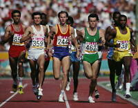 OLD SPORTS PHOTO OLYMPICS Sebastian Coe Of Great Britain 2