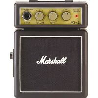 Marshall MS-2 Mini Amp Mini Guitar Amplifier Practice Amp Novelty Amp
