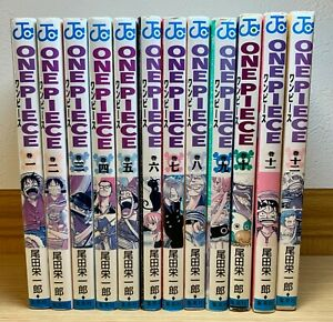 One Piece Manga vol 1 - 12 East Blue edition - All 1st print series - Rare!!!