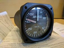 United Instruements AIRSPEED INDICATOR 825B.538 *OH 8130-3* *WARRANTY*