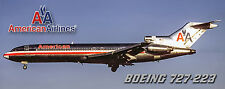 American Airlines Boeing 727 Photo Magnet (PMT1511)