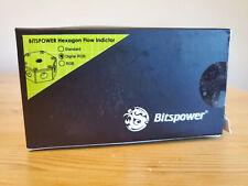 "Bitspower G1/4"" Hexagon Flow Indicator - DIGITAL (5V) RGB BP-HFI-DRGB"