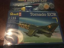 Revell TORNADO ECR 1:144 Scale Model War Aeroplane Kit 04048 + PAINTS BRUSH ETC
