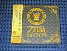 Legend of Zelda 30th Anniv. Live Concert Orchestra Limited ed. 2CD+DVD JAPAN F/S