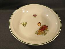 Ancien plat en porcelaine à feu de Grigny (Rhone) de table french antique plate