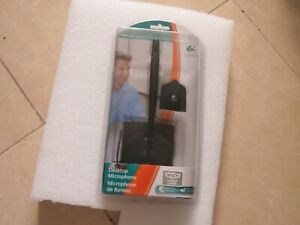Logitech 980240-0403 Cable Consumer Microphone Retail Box Sealed