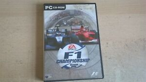 F1 CHAMPIONSHIP SEASON 2000 - PC GAME - ORIGINAL & COMPLETE WITH BOTH MANUALS