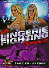 LFC: Lingerie Fighting Championships - Lace vs. Leather (DVD, 2014) NEW