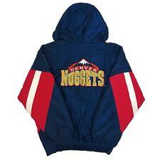 Vtg Rare NBA Denver Nuggets Starter Jacket. Mens Medium.