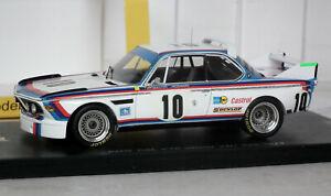 Spark BMW CSL 1st 1973 Spa 24h Winner Quester & Hezemans 1/43 SB026 Boxed 1/750