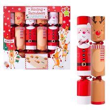 Christmas Crackers - 6 Pack Novelty Game - Choose Design