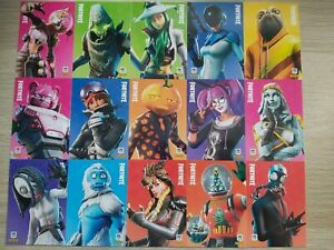PANINI FORTNITE TRADING CARDS SERIES 2 EPIC & LEGENDARY CARDS - YOU CHOOSE