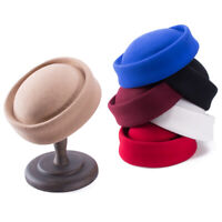 Frauen Wolle Stewardess Stewardessen Pillbox Hut Millinery Fascinator Base B028