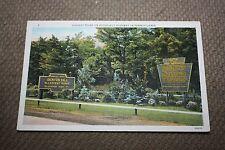 Vintage Postcard Highest Point On Roosevelt Highway In Pennsylvania, Denton Hill