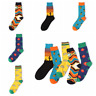 Men's Taco Socks COTTON Happy Novelty Sox Size 7-13 Unisex Fashion Funky Gift NE