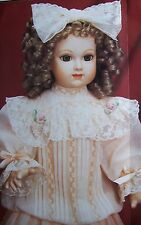 "FRANKLIN MINT Replica of Priceless BEBE JUMEAU DOLL 21"" COA New No Original Box"