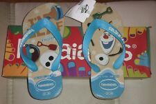 NEU@Gr 29-30@Havaianas@I AM OLAF@FROZEN#Zehentrenner Flip Flops Sandale Schlappe