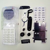 Transparent Repair Housing Cover for Motorola HT1250 Full-keypad Portable