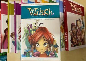 WITCH W.I.T.C.H.12 volumi cartonati Mondadori OTTIMI serie completa RARA