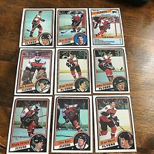 1984-85   O-Pee-Chee  PHILADELPHIA FLYERS 15 card team set
