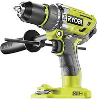 Ryobi R18PD7-0 Brushless Percussion Drill, 18 V, Hyper Green