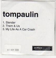 (BS309) Tompaulin, Slender - DJ CD