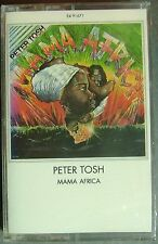 Peter Tosh--Mama Africa (Cassette, 1983, EMI) NEW