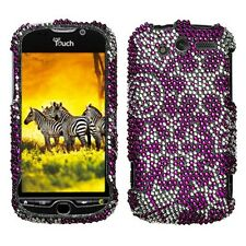 For T-Mobile HTC myTouch 4G Diamond Crystal Bling Hard Case Phone Cover Freeze