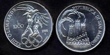 San Marino 1000 Lire AG 1984 FDC XXIII Olimpiade