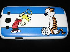 Calvin & Hobbes Hard Cover Case  Samsung S3 Calvin's make shift Halo & Hobbes