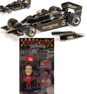 Minichamps 1978 WC Mario Andretti Lotus Ford 79 1/18 + MS FIGURE N exoto cmc