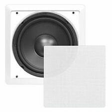 "Sound Around Pyle In-Wall / In-Ceiling 10"" High Power Subwoofer System, DVC,"