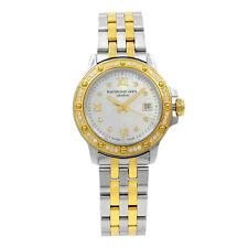 Raymond Weil Tango Gold Tone Steel  MOP Dial Quartz Ladies Watch 5399-SPS-00995