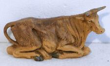 New ListingFontanini Depose Italy Roman 7.5� Scale Nativity Laying Ox No. 305