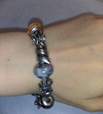 Bracciale Amore e Baci con beads Trollbeads Pandora - Occasione!