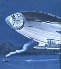 Peace Dirigible: Frank Tinsley : science fiction  Art Print Suitable for Framing