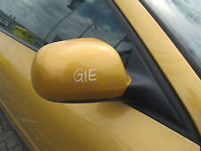 el. Außenspiegel rechts Audi A3 8L MAYAGELB LY1U Spiegel gold
