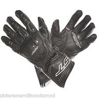 RST R-16 R16 MOTORCYCLE ROAD TRACK RACE GLOVES LEATHER SIZE XS S M L XL 2XL