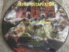 Cattle Decapitation - Human Jerky Picture Disc Vinyl - Accident Prone RecordS