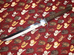 "Vintage Japanese Tomato Knife 7.5"" Wood Handle Made In Japan"