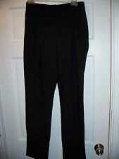 NWT Forever 21 Black Career Pants Size S Pleat Front High Waist